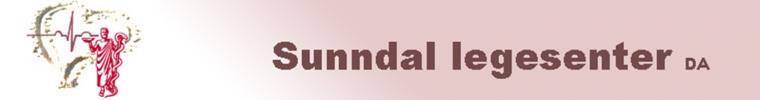 Sunndal Legesenter sin logo