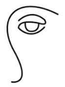 Blepharo Øyeklinikk sin logo