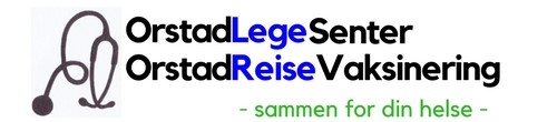 Orstad legesenter    sin logo