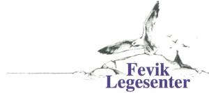 Fevik Legesenter sin logo